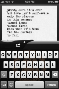 screenshot Amazing Type-Writer app review