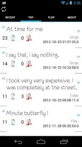 screenshot I Say That I Say Nothing app review