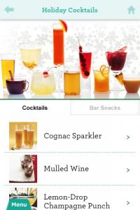 screenshot Martha Stewart Makes Cocktails app review