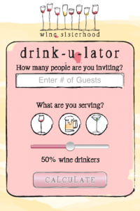 screenshot Drinkulator app review