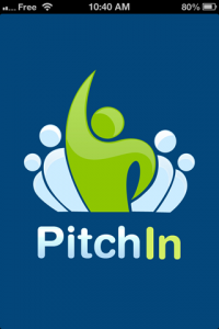 screenshot PitchIn app review