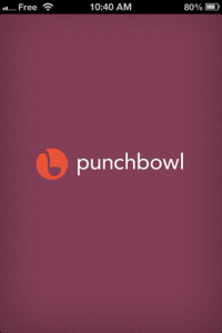 screenshot Punchbowl app review