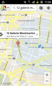 screenshot RATP app review