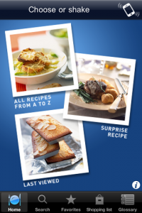 screenshot Best of French Cuisine app review