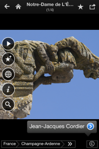 screenshot Fotopedia France app review