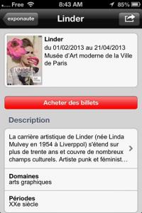 screenshot Exponaute app review