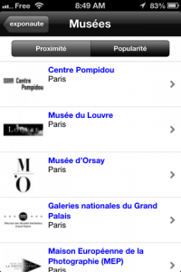 screenshot Exponaute app review