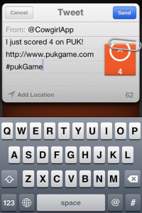 screenshot PUK app review