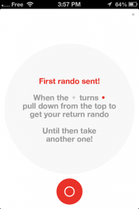 screenshot Rando app review