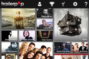 screenshot Trailerpop app review
