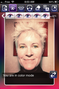 screenshot iMakeupBooth app review
