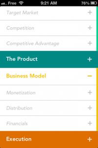 screenshot Elevatr app review
